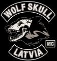 wolf skull logo
